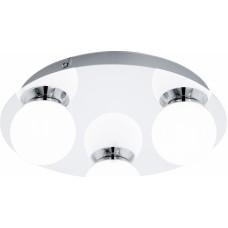 94629 EGLO LED-WL/DL/3 CHROM/WEISS MOSIANO, Mennyezeti lámpa