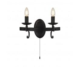 Searchlight 8902-2BK Cartwheel III, fali lámpa