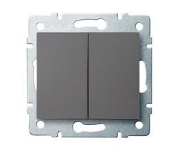 Kanlux LOGI 25244 Csillárkapcsoló 10AX - 250V~,grafit