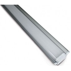 Schrack Technik  LID13284 Mercat Twin LED, pris., v lište, 43W, 4000K, 3800lm, IP20,š.