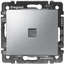 Legrand Valena -  Striedavý prepínač č. 6 so signalizačným osvetlením, hliník - 770125